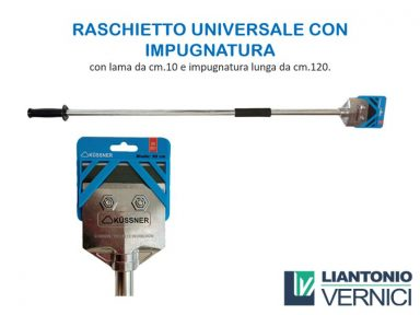 RASCHIETTO UNIVERSALE CON IMPUGNATURA